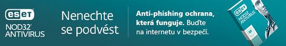 Antiviry ESET pro domácnosti